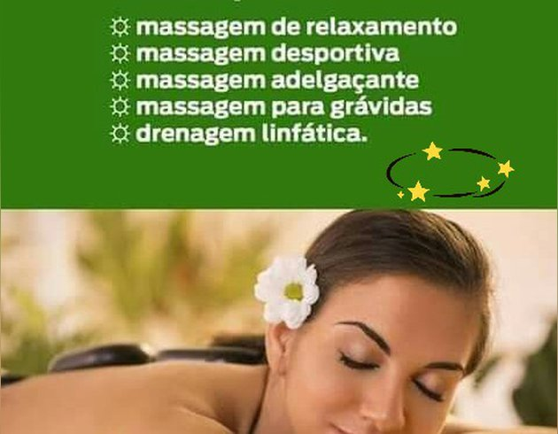 Opertunidade unica agora Massagem Relaxante 45 mim foto 1