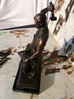 Estatueta em bronze foto 1