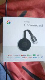 Google Chromecast novo. foto 1