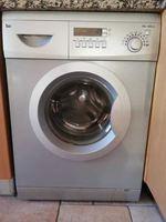 Máquina lavar roupa cromada teka foto 1