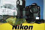 NIKON D3000 em muito bom estado + objectiva 18-55m foto 1