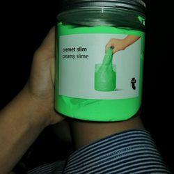 Slime verde foto 1