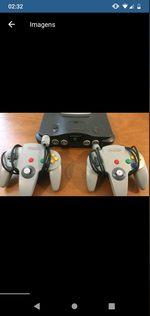 Vendo Nintendo 64 com estes jogos restantes foto 1