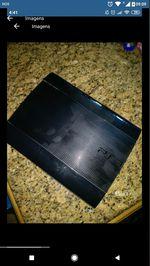 PS3 super Slim sem comando foto 1