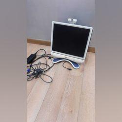 """Monitor Benq """"17"""" com Web cam e Colunas foto 1"""