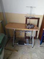 Maquina costura corte e coze foto 1