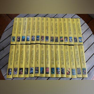 Coleção 30 cassetes vhs National Geographic vídeo. foto 1