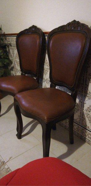 Cadeiras vintage foto 1