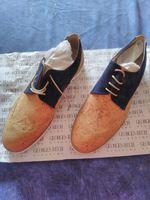 Sapatos de homem. Fabrico artesanal. foto 1