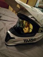 Capacete moto cross foto 1