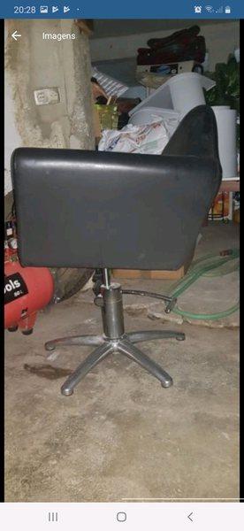 Cadeiras cabeleireiro foto 1