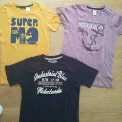 3 tshirts 8/10 anos foto 1