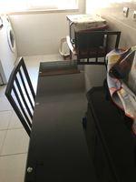 Mesa de vidro de cozinha com 4 cadeiras foto 1