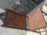 8 Cadeiras antigas em pele (preço unitário) foto 1