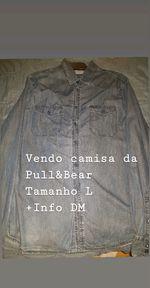 Camisa ganga (pullandbear) foto 1
