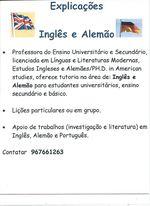 Explicacoes Inglês/Alemão/Português foto 1