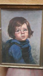 Original menino chorão raro bragolin foto 1