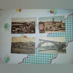Lote postais raros do porto e Douro foto 1