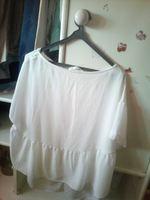 blusa com folhos lefties foto 1