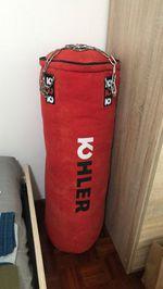 Saco de box com luvas incluídas foto 1