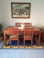 Mesa e 4 cadeiras foto 1