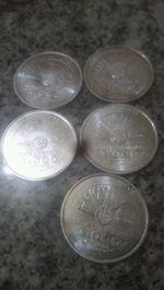 Vendo 5 moedas foto 1