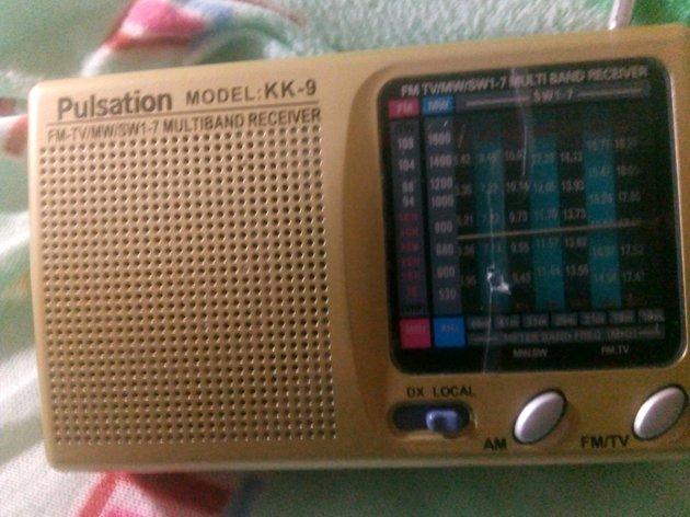 Rádio pequeno AM/FM com sono TV ( novidade ) foto 1