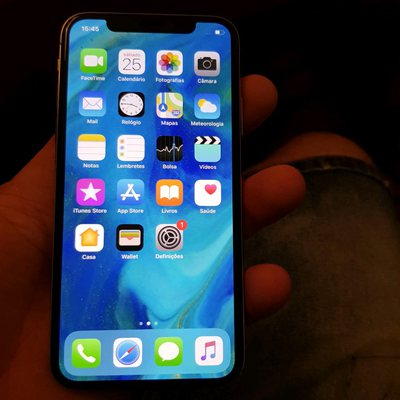 Iphone x Rede vodofone Fatura e garantia foto 1
