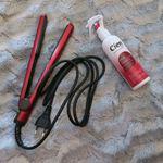 Prancha de cabelo + protetor de calor cien foto 1