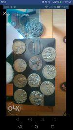 Medalhas bronze alto relevo foto 1