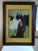 Reprodução quadro Degas foto 1