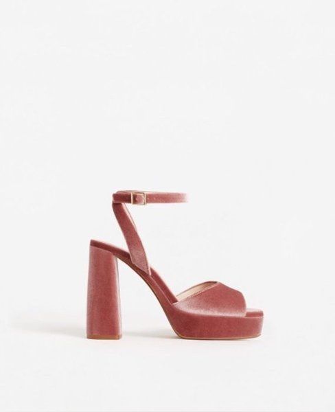 Sandálias de salto Mango foto 1