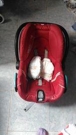Cadeira de carro bebe conforto com oferta de fraldas foto 1
