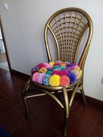 Cadeira reciclada foto 1