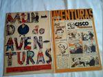 lote 2 jornais mundo de aventruras anos 50 foto 1