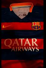 Camisola Barcelona Ronaldinho foto 1