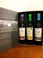 Conjunto garrafas vinho em caixa original. foto 1