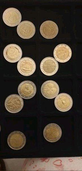 Coleção de moedas de 2 € foto 1