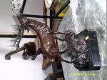 Um veado em bronze foto 1