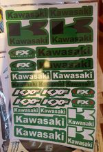 Folha Kawasaki A4 foto 1