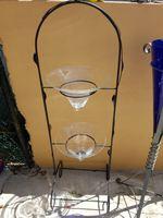 Expositor p.vasos c. Pé foto 1
