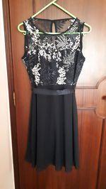 Vestido cerimônia preto foto 1