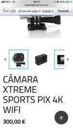Camara 4K com wifi foto 1
