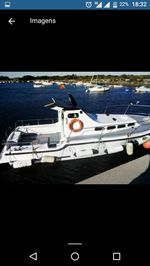 Barco de fibra cabinado motor Ford diesel linha de foto 1