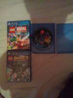 Vendo três jogos da PS4 Lego Batman3 Marvel juráss foto 1