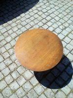 Mesa café antiga foto 1