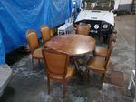 Mesa extensível + 6 cadeiras