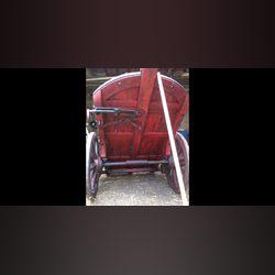 Vendo carro de bois antigo. foto 1