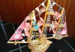 Barcos feitos a mão foto 1