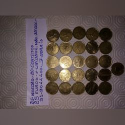 Vendo moedas de 10 cêntimos foto 1